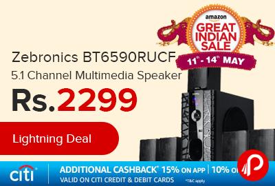 Zebronics BT6590RUCF 5.1 Channel Multimedia Speaker