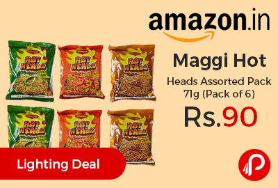 Maggi Hot Heads Assorted Pack 71g