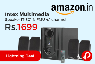 Intex Multimedia Speaker IT-301 N FMU