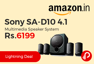 Sony SA-D10 4.1 Multimedia Speaker System