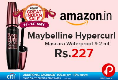 Maybelline Hypercurl Mascara Waterproof 9.2 ml
