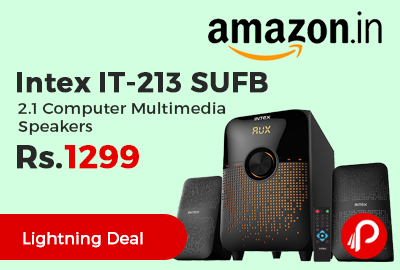 Intex IT-213 SUFB 2.1 Computer Multimedia Speakers