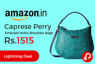 Caprese Perry Emerald Hobo Shoulder Bags