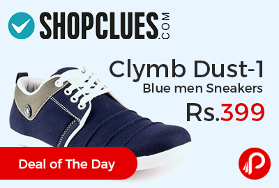 Clymb Dust-1 Blue men Sneakers