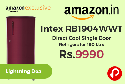 Intex RB1904WWT Direct Cool Single Door Refrigerator 190 Ltrs