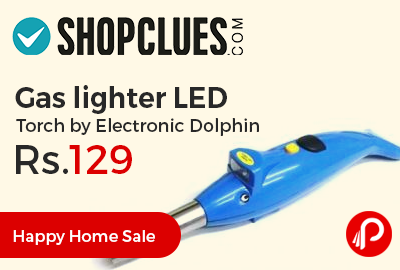 Gas lighter LED Torch by Electronic Dolphin at Rs.129 Only - Shopclues
