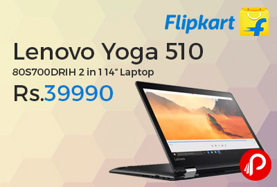 """Lenovo Yoga 510 80S700DRIH 2 in 1 14"""" Laptop"""