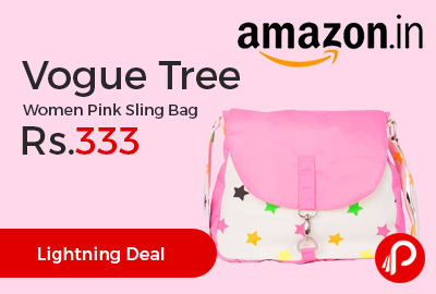 Vogue Tree Women Pink Sling Bag