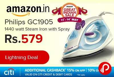 Philips GC1905 1440 watt Steam Iron with Spray