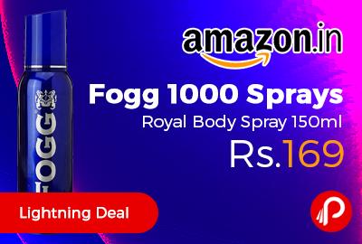 Fogg 1000 Sprays Royal Body Spray 150ml