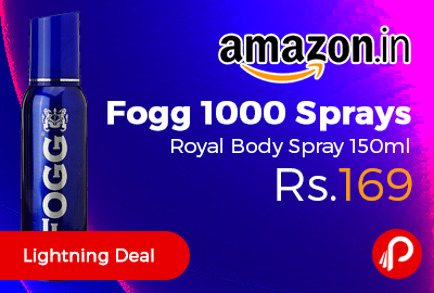 Fogg 1000 Sprays Royal Body Spray 150ml