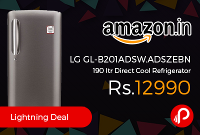 LG GL-B201ADSW.ADSZEBN 190 ltr Direct Cool Refrigerator