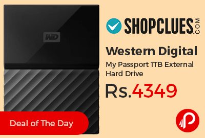 Western Digital My Passport 1TB External Hard Drive