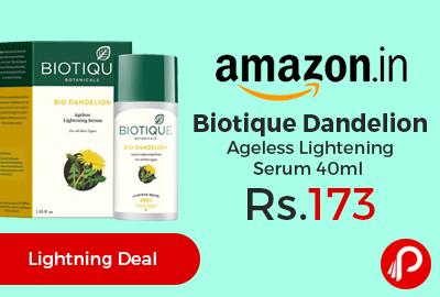 Biotique Dandelion Ageless Lightening Serum 40ml