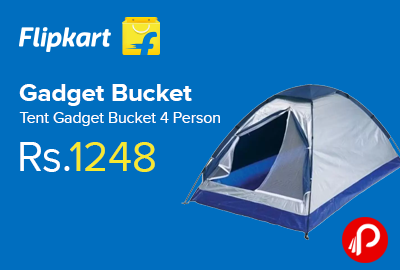 Gadget Bucket Tent Gadget Bucket 4 Person