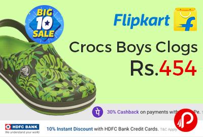 Crocs Boys Clogs