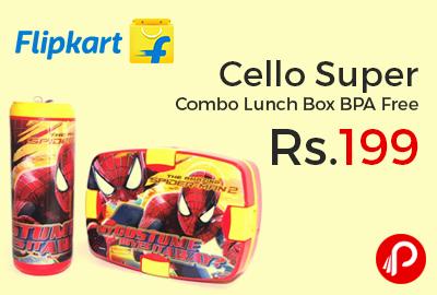 Cello Super Combo Lunch Box BPA Free