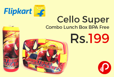 Cello Super Combo Lunch Box BPA Free