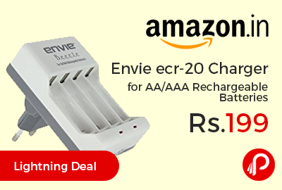 Envie ecr-20 Charger for AA/AAA Rechargeable Batteries