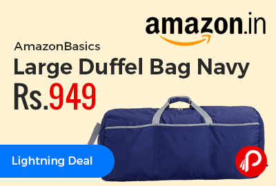 AmazonBasics Large Duffel Bag Navy
