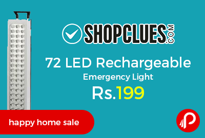 72 LED Rechargeable Emergency Light