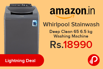 Whirlpool Stainwash Deep Clean 65 6.5 kg Washing Machine