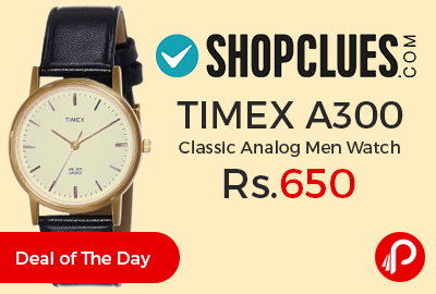 TIMEX A300 Classic Analog Men Watch