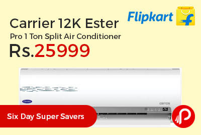 Carrier 12K Ester Pro 1 Ton Split Air Conditioner