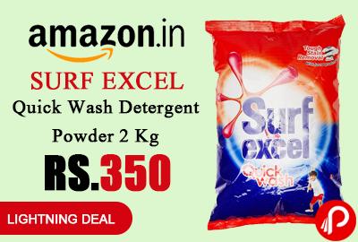 Surf Excel Quick Wash Detergent Powder 2 Kg