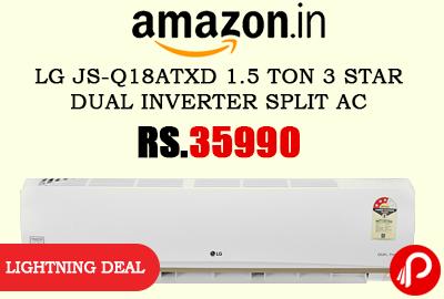 LG JS-Q18ATXD 1.5 Ton 3 Star Dual Inverter Split AC