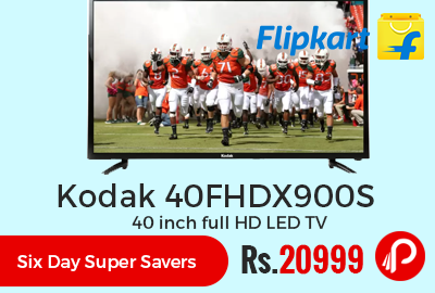 Kodak 40FHDX900S 40 inch full HD LED TV
