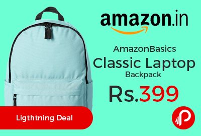 AmazonBasics Classic Laptop Backpack