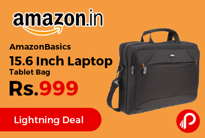 AmazonBasics 15.6 Inch Laptop Tablet Bag