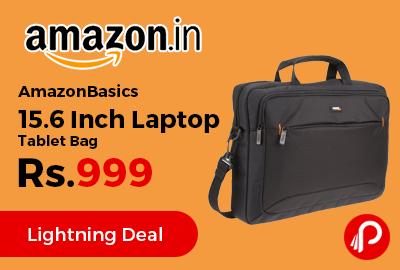 AmazonBasics 15.6 Inch Laptop Tablet Bag