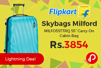 """Skybags Milford MILFO55TTRQ 55"""" Carry-On Cabin Bag"""