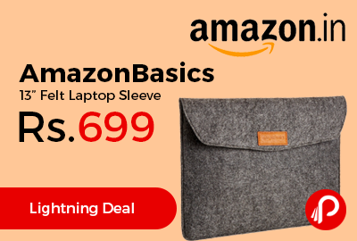 "AmazonBasics 13"" Felt Laptop Sleeve"