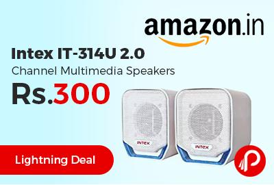 Intex IT-314U 2.0 Channel Multimedia Speakers