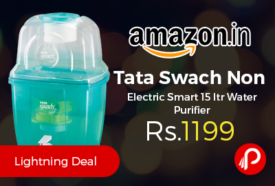 Tata Swach Non Electric Smart 15 ltr Water Purifier