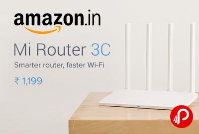 Mi Router 3C Smarter Faster WiFi Router