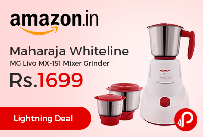 Maharaja Whiteline MG Livo MX-151 Mixer Grinder