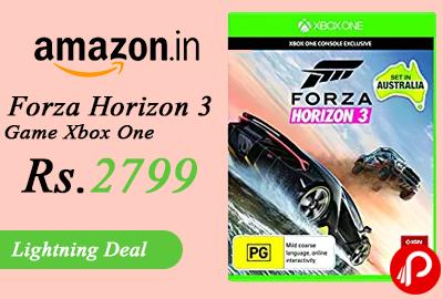 Forza Horizon 3 Game Xbox One
