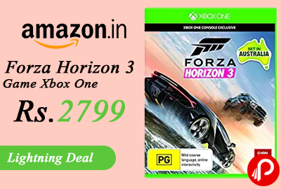 Forza Horizon 3 Game Xbox One