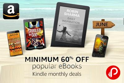 Popular eBooks Minimum 60% off Kindle Deals - Amazon