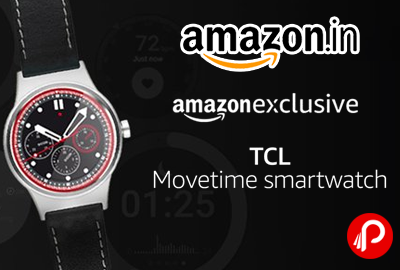 TCL Movetime Smartwatch Step Sleep Monitoring at Rs.9999 Only - Amazon