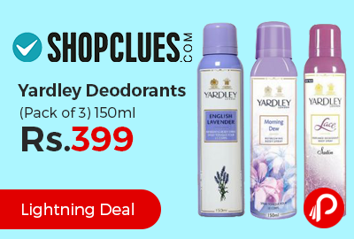 Yardley Deodorants