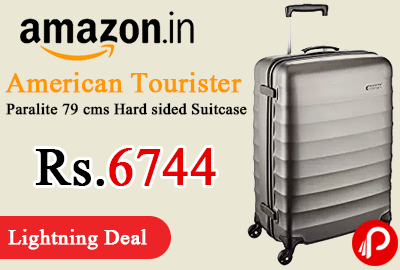 American Tourister Paralite 79 cms Hard sided Suitcase
