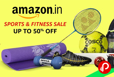 Sports & Fitness Products Sale Upto 50% off - Amazon