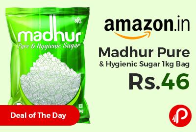 Madhur Pure & Hygienic Sugar 1kg Bag
