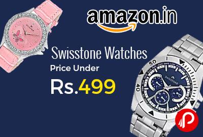 Swisstone Watches Price Under Rs.499 - Amazon