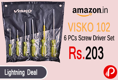 VISKO 102 6 Pcs Screw Driver Set